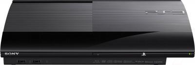 Игровая приставка Sony PlayStation 3 PS719244462 (джойстик в комплекте) - вид спереди