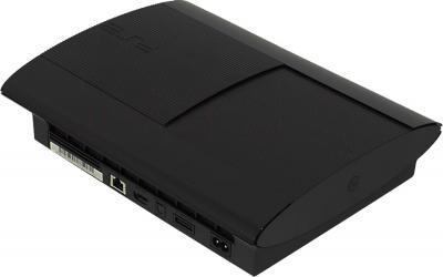 Игровая приставка Sony PlayStation 3 PS719244462 (джойстик в комплекте) - вид сзади
