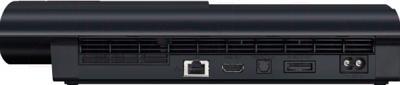 Игровая приставка Sony PlayStation 3 PS719435310 - вид сзади