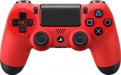 Геймпад Sony Dualshock 4 (Red) - фронтальный вид