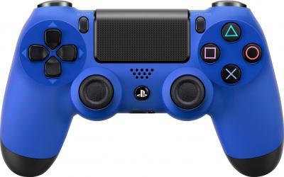 Геймпад Sony Dualshock 4 (Blue) - фронтальный вид