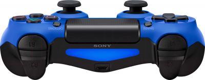 Геймпад Sony Dualshock 4 (Blue) - вид спереди