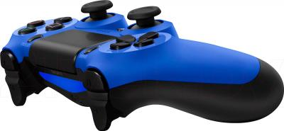 Геймпад Sony Dualshock 4 (Blue) - общий вид