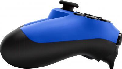 Геймпад Sony Dualshock 4 (Blue) - вид сбоку