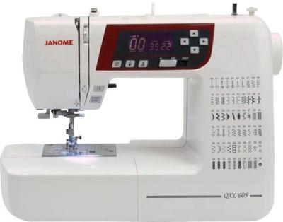 Швейная машина Janome 605 QDC - общий вид