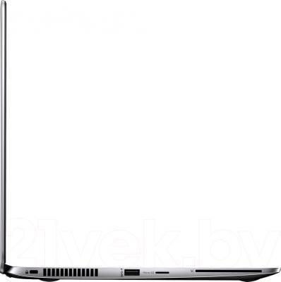 Ноутбук HP EliteBook Folio 1040 G1 (F6Z38ES) - вид сбоку