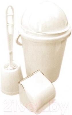Набор для туалета Белпласт с218-2830 (бежевый)