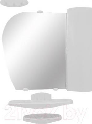 Комплект мебели для ванной Белпласт с419-2830 (белый) - общий вид
