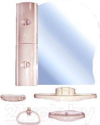 Комплект мебели для ванной Белпласт с341-2830 (бежевый) - общий вид
