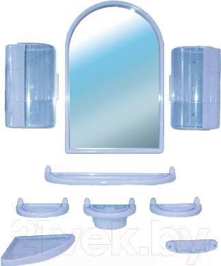 Комплект мебели для ванной Белпласт с300-2830 (голубой) - общий вид