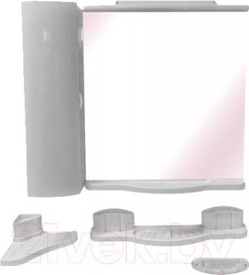 Комплект мебели для ванной Белпласт Элегант с420-2830 (белый) - общий вид