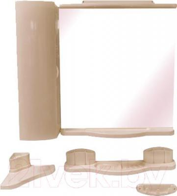 Комплект мебели для ванной Белпласт Элегант с420-2830 (бежевый) - общий вид