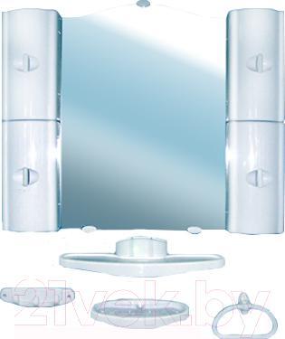 Комплект мебели для ванной Белпласт с318-2830 (голубой) - общий вид