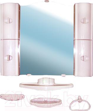 Комплект мебели для ванной Белпласт с318-2830 (бежевый) - общий вид