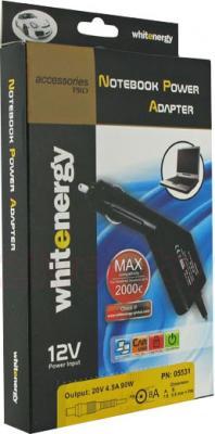 Автомобильный адаптер питания для ноутбуков Whitenergy 05514 - упаковка