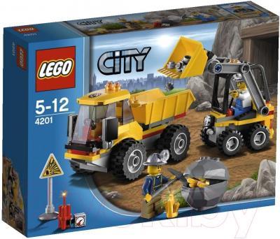 Конструктор Lego City Погрузчик и самосвал (4201) - упаковка