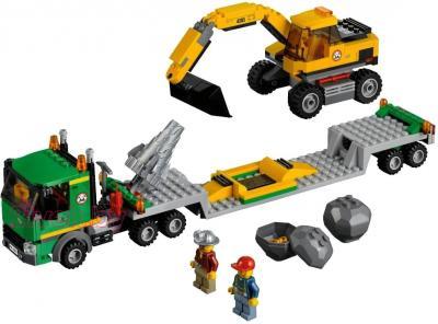 Конструктор Lego City Экскаватор (4203) - общий вид