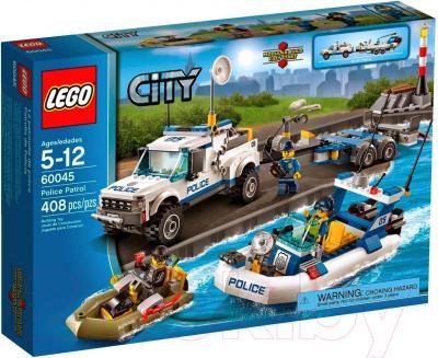 Конструктор Lego City Полицейский патруль (60045) - упаковка