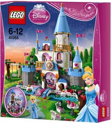 Конструктор Lego Disney Princess 41055 Романтический замок Золушки - упаковка