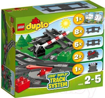 Конструктор Lego Duplo Дополнительные элементы для поезда (10506) - упаковка