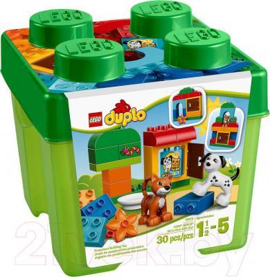 Конструктор Lego Duplo Лучшие друзья: кот и пёс (10570) - упаковка