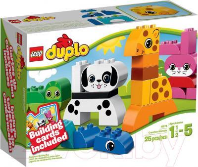 Конструктор Lego Duplo Весёлые зверюшки (10573) - упаковка
