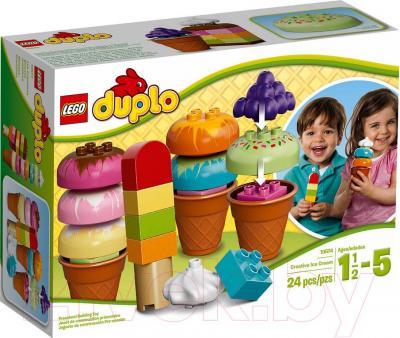Конструктор Lego Duplo Весёлое мороженое (10574) - упаковка
