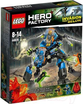 Конструктор Lego Hero Factory Боевая машина Сурж и Роки (44028) - упаковка