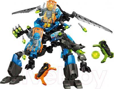 Конструктор Lego Hero Factory Боевая машина Сурж и Роки (44028) - общий вид