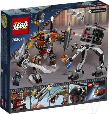 Конструктор Lego Movie Поединок Стальной Бороды (70807) - упаковка