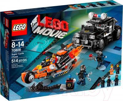 Конструктор Lego Movie Погоня на супермотоциклах (70808) - упаковка