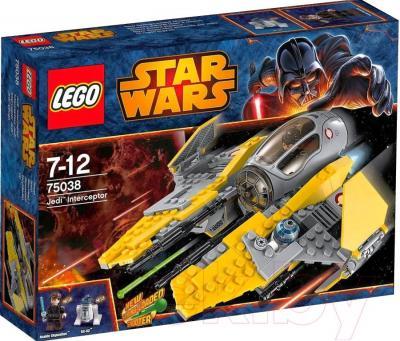 Конструктор Lego Star Wars Перехватчик Джедаев (75038) - упаковка