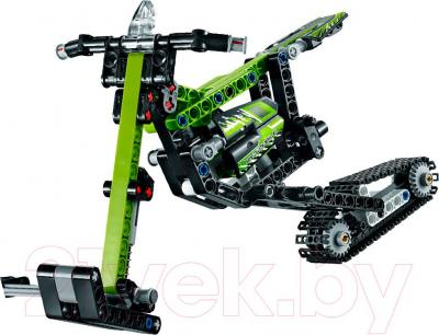 Конструктор Lego Technic Снегоход (42021) - общий вид