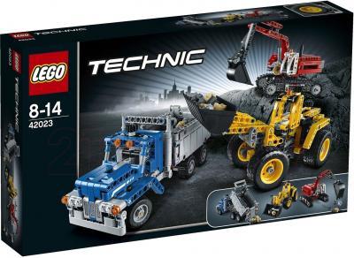 Конструктор Lego Technic 42023 Строительная команда - упаковка