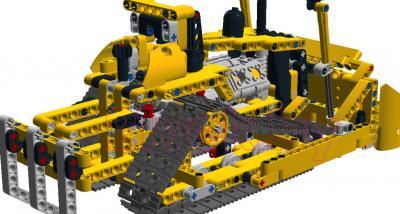 Конструктор Lego Technic Бульдозер (42028) - бульдозер