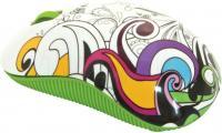 Мышь Ritmix RMW-210 Graffiti (зеленый) -