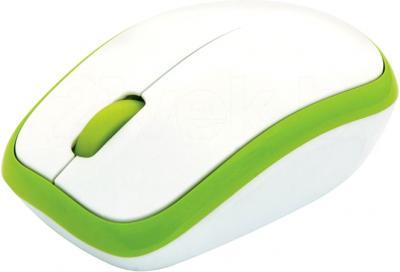 Мышь Ritmix RMW-215 Silent (зеленый) - вид сбоку