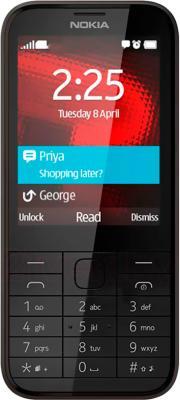 Мобильный телефон Nokia 225 (черный) - общий вид