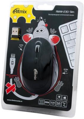 Мышь Ritmix RMW-230 Slim - упаковка