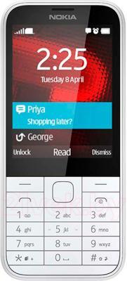 Мобильный телефон Nokia 225 (белый) - общий вид