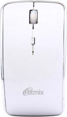 Мышь Ritmix RMW-240 Arc (белый) - общий вид