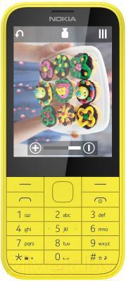 Мобильный телефон Nokia 225 (желтый)
