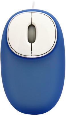 Мышь Ritmix ROM-340 Antistress (синий) - общий вид