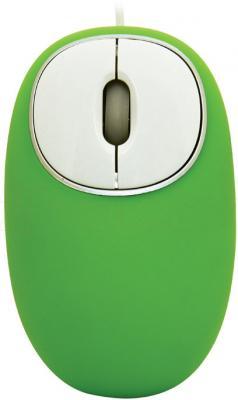Мышь Ritmix ROM-340 Antistress (зеленый) - общий вид