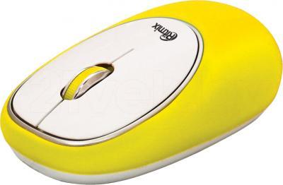 Мышь Ritmix RMW-250 Antistress (желтый) - общий вид