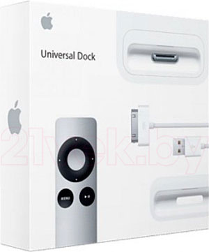 Док-станция для смартфона Apple Universal Dock MC746ZA/A - упаковка