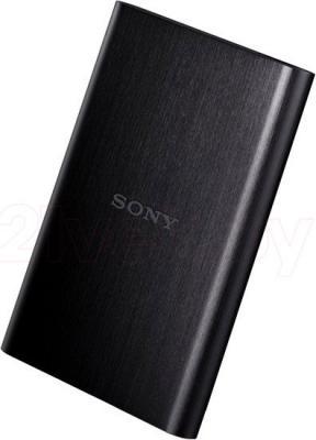 Внешний жесткий диск Sony HD-E1 1TB Black (HD-E1/B) - общий вид