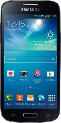 Смартфон Samsung I9190 Galaxy S4 mini (Black) - общий вид