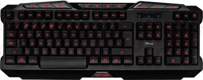 Клавиатура Trust GXT 280 LED Illuminated Gaming Keyboard - общий вид
