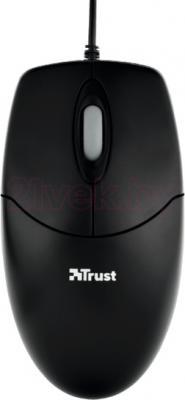 Мышь Trust Optical Mouse (черный) - общий вид